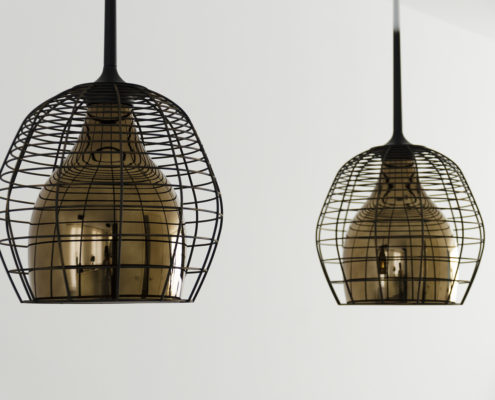 Diesel with Foscarini Cage hanglampen