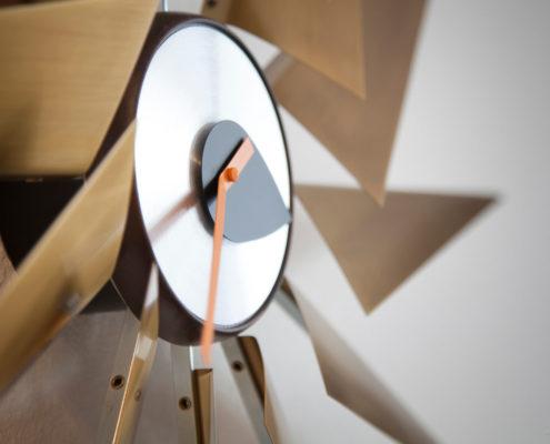 Vitra Turbine Clock detail