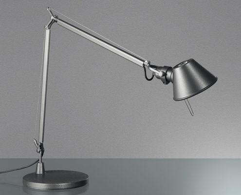 Artemide Tolomeo bureaulamp zilver