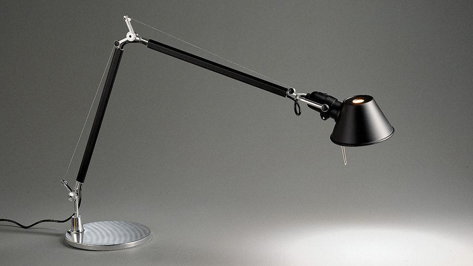 Artemide Tolomeo bureaulamp zwart