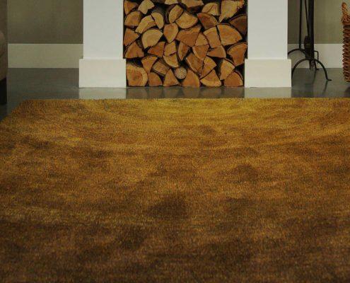Vloerkleed Carpet Sign Sauvage Dégradé kleur oker