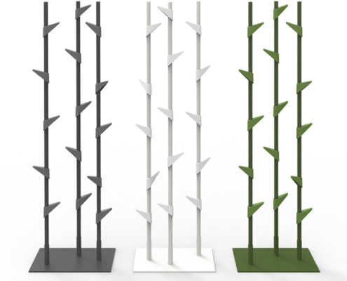 Cascando Bamboo staande kapstok