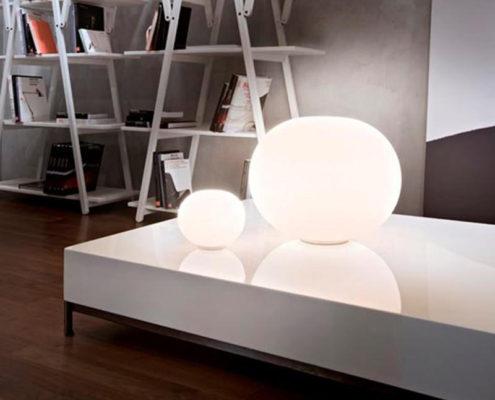 Flos Glo-ball tafellampen