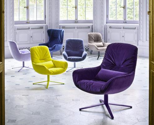 Freifrau Leya Wingback fauteuil