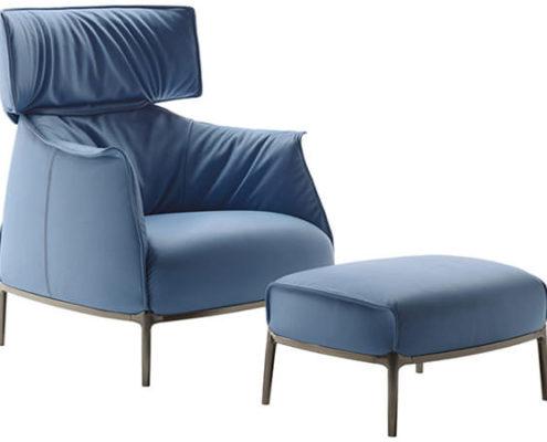 Poltrona Frau Archibald fauteuil