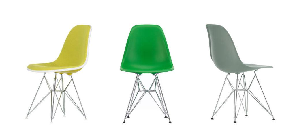 Vitra Eames Plastic Chair DSR