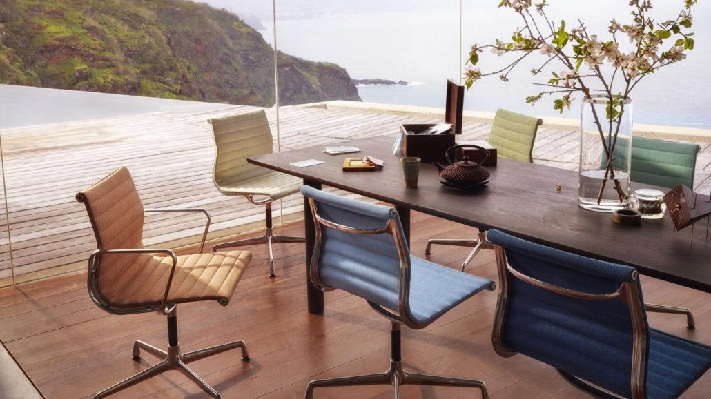 Vitra Aluminium Chairs EA 105/107/108