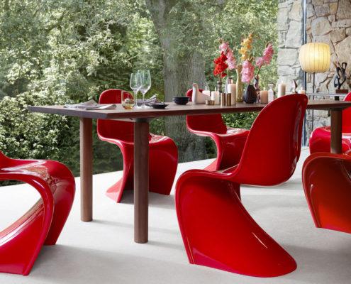 Vitra Panton Chair eetkamerstoel