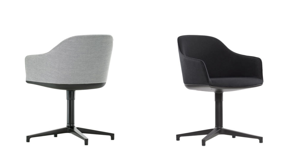 vitra softshell chair eetkamerstoel ploemen interieur. Black Bedroom Furniture Sets. Home Design Ideas