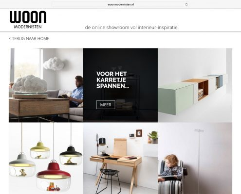 Woonmodernisten Website