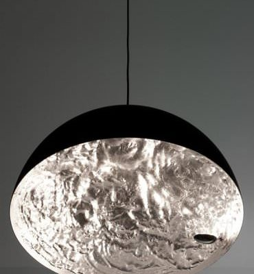 Catellani & Smith Stchu Moon hanglamp zilverkleurig