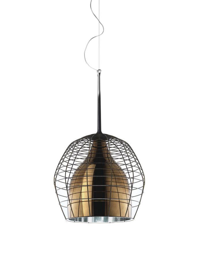 Diesel with Foscarini - Cage hanglamp koper