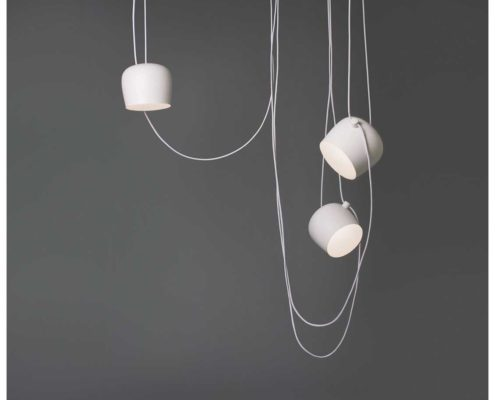 Flos Aim hanglamp wit