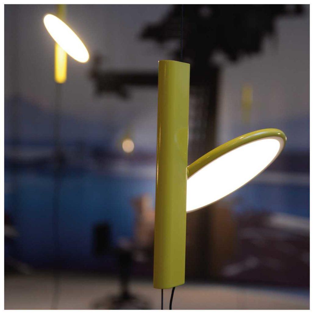 Flos OK sfeerfoto geel