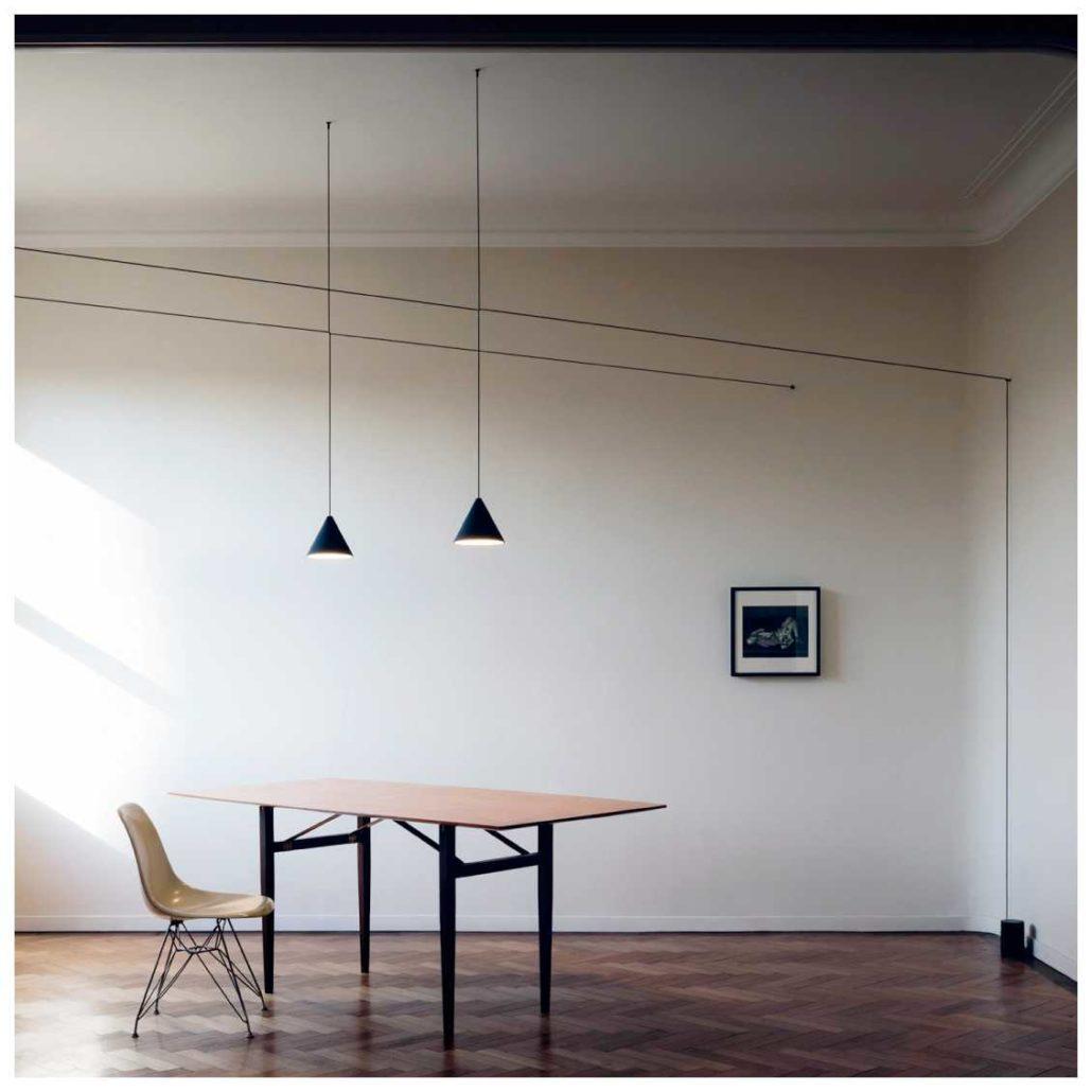 Flos string light testa a sfera hanglamp ploemen interieur - String kantoor ...