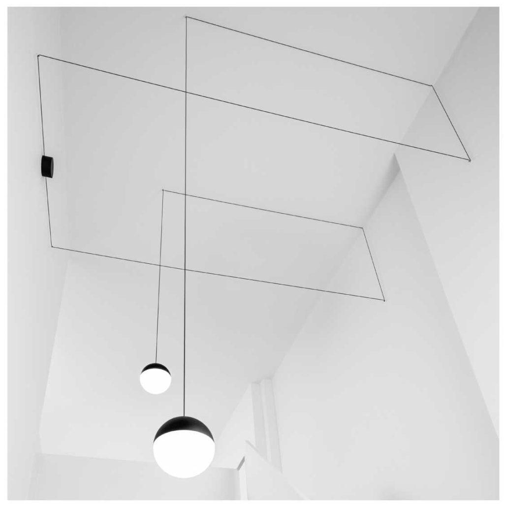 Flos String Light Testa a Sfera sfeerfoto