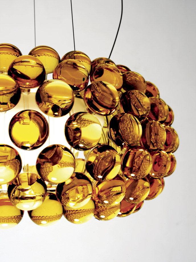 Foscarini Caboche goudkleurig detail