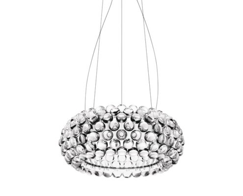 Foscarini Caboche Medium hanglamp transparant