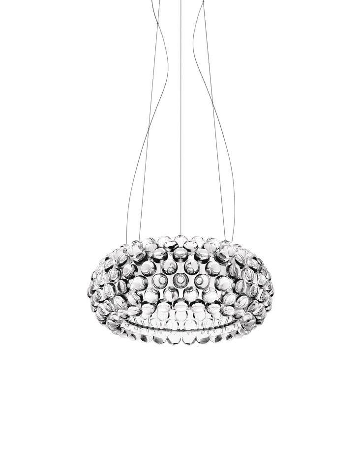 Foscarini Caboche Medium hanglamp transparant