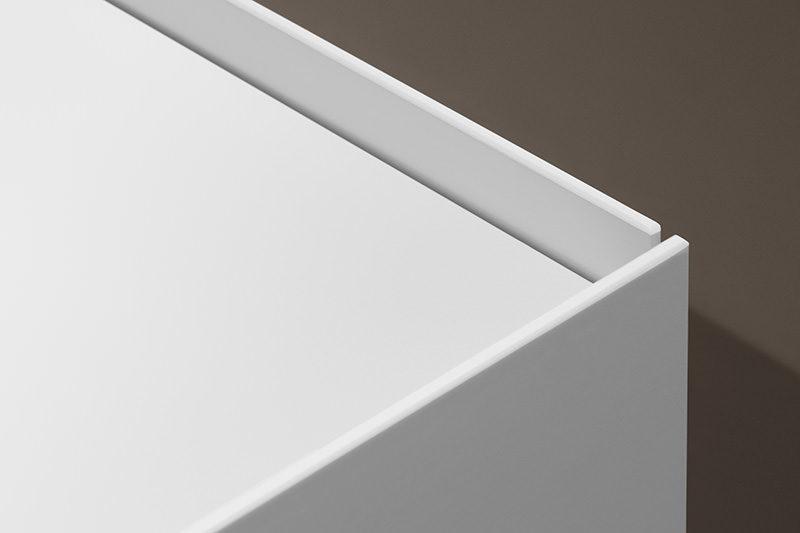 Interlübke dressoir Jorel hoogglans wit detail bovenaanzicht