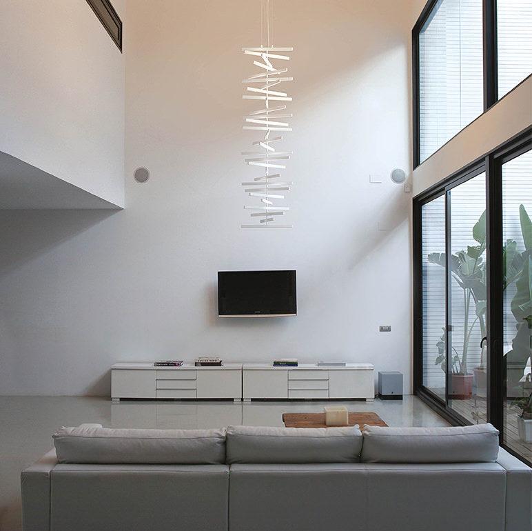 Vibia Rhythm Vertical hanglamp