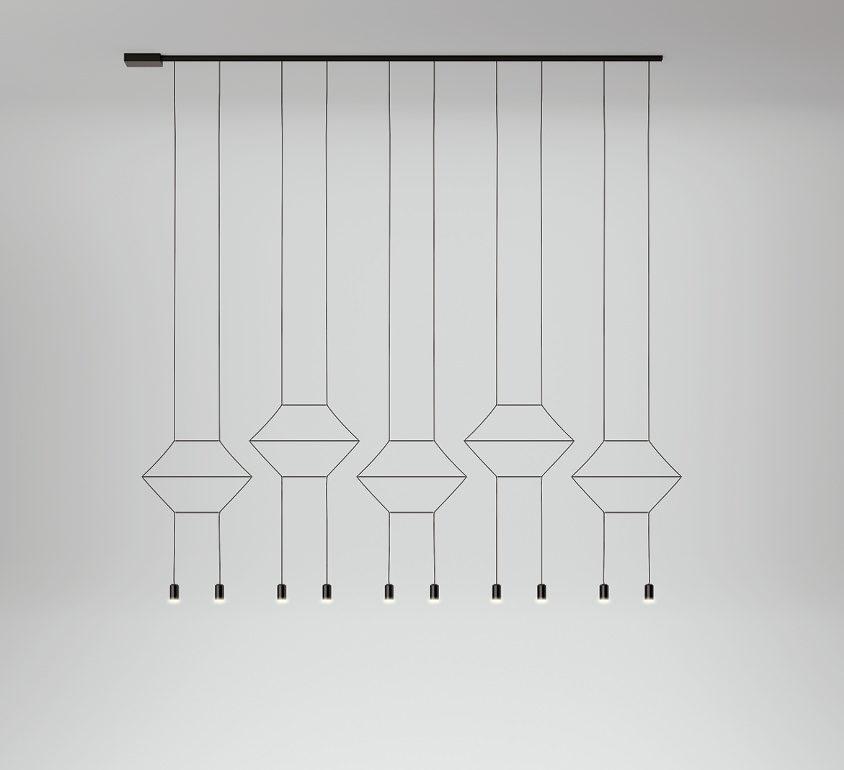Vibia Wireflow Lineal hanglamp