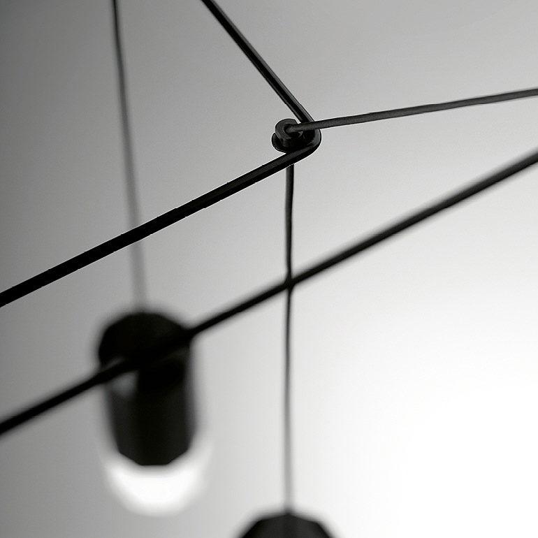 Vibia Wireflow hanglamp detail