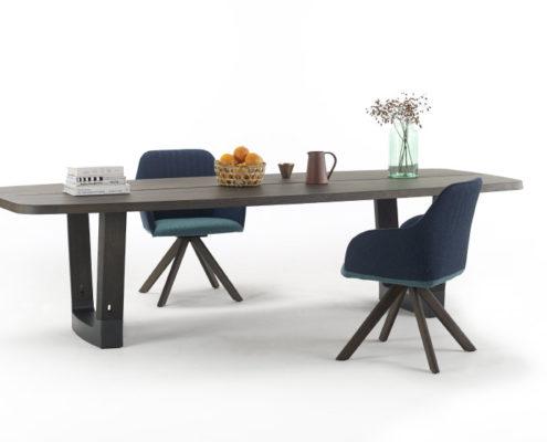 arco base oval tafel